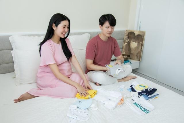 Á hậu Thuý Vân sinh con đầu lòng - 5