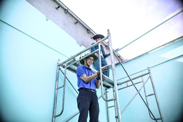 Áo xanh, khăn rằn phương  Nam ra miền Trung khắc phục hậu quả bão lũ - 7