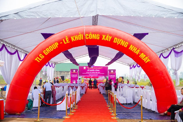 Sơn Tuylips - Tuylip Luxury khởi công nhà máy rộng 40.000m2 - 1