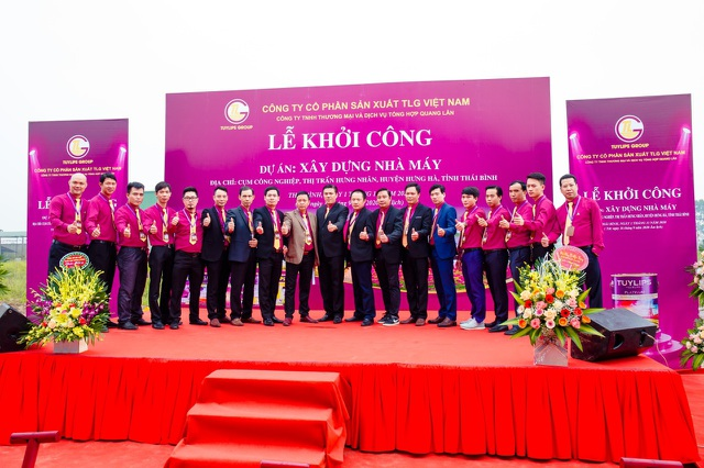 Sơn Tuylips - Tuylip Luxury khởi công nhà máy rộng 40.000m2 - 2