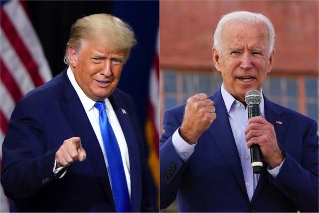 Ông Trump thu hẹp khoảng cách với Biden tại các bang chiến địa - 1