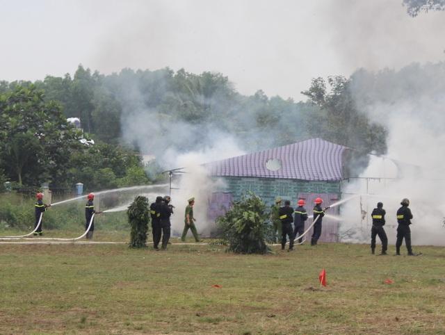 Lực lượng bảo vệ dự án sân bay Long Thành diễn tập chống khủng bố - 6