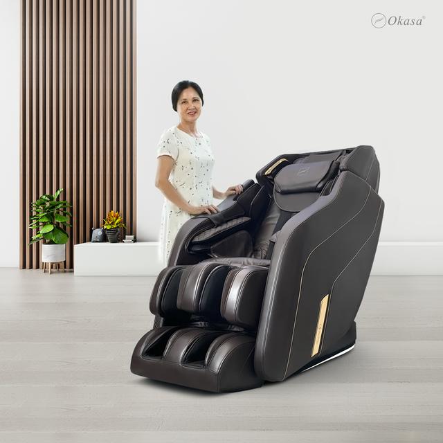 Okasa khai trương showroom ghế massage thứ 14 tại Long Biên - Giảm giá đến 50% - 2