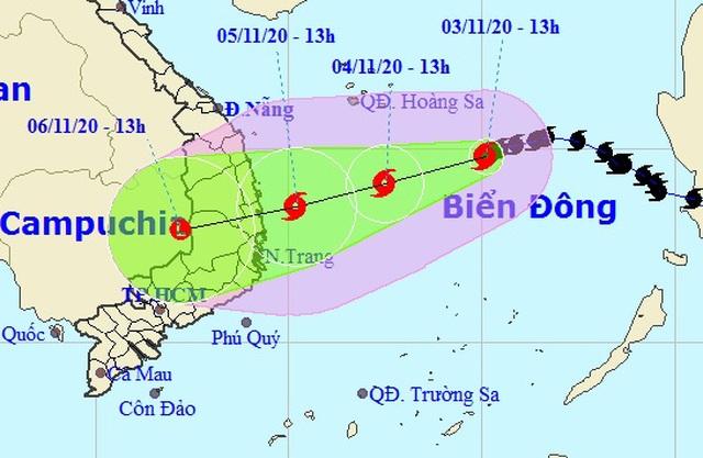 Bão số 10 kết hợp không khí lạnh sẽ gây mưa lớn ở miền Trung - 2
