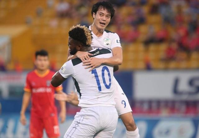 Thắng HL Hà Tĩnh, HA Gia Lai thoát cảnh toàn thua ở giai đoạn 2 V-League - 2