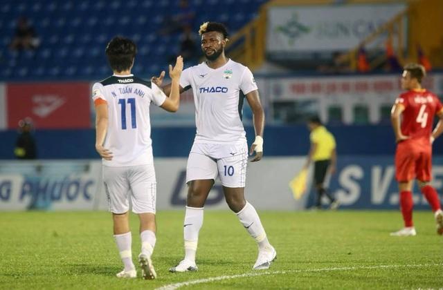 Thắng HL Hà Tĩnh, HA Gia Lai thoát cảnh toàn thua ở giai đoạn 2 V-League - 1