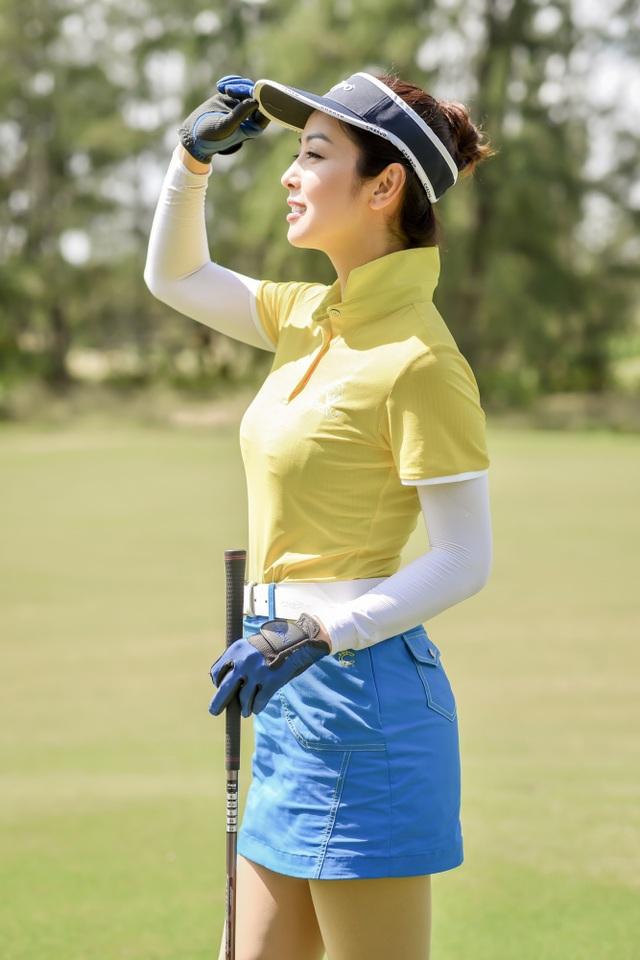 Hoa hậu Ngọc Hân, Jennifer Phạm thi đấu golf quyên góp ủng hộ miền Trung - 4