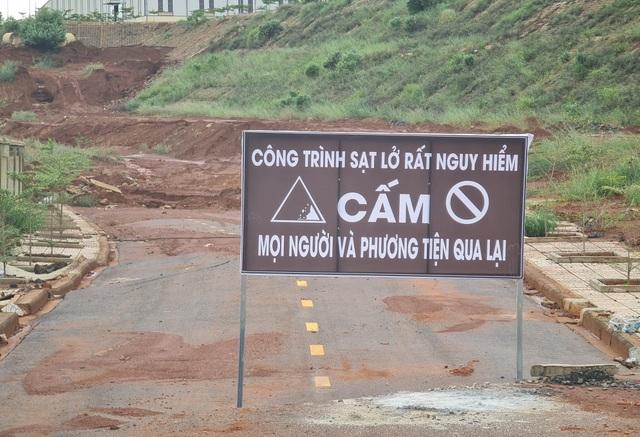 Bí thư tỉnh uỷ Đắk Nông trực tiếp thị sát đại dự án cứ xây lại sập! - 8