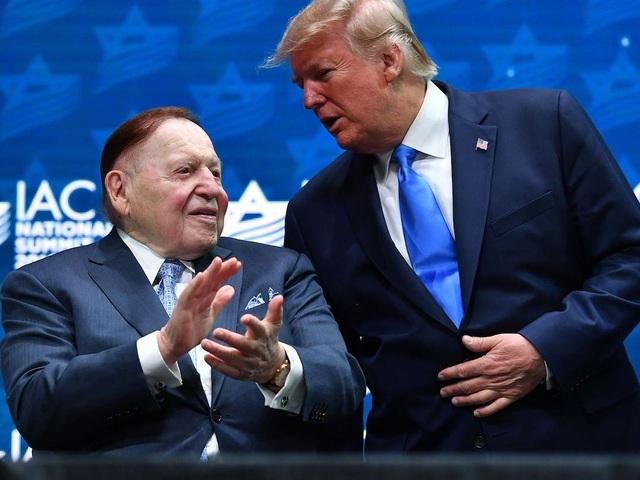 """Ông trùm sòng bạc """"chống lưng"""" cho Tổng thống Trump là ai? - 1"""