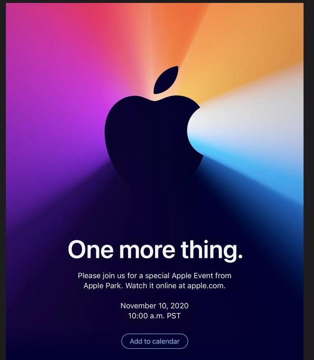 Apple tổ chức sự kiện đặc biệt ngày 10/11, sản phẩm mới nào sẽ xuất hiện? - 1