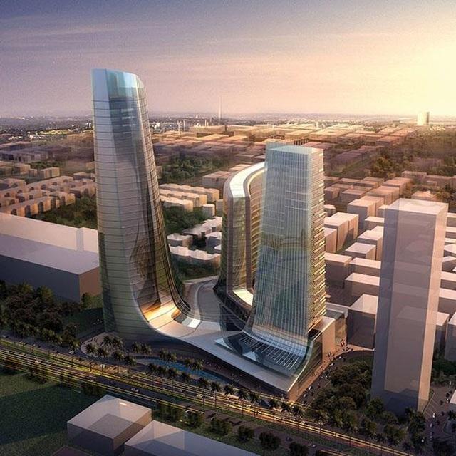 Tác giả những tòa nhà nổi tiếng thế giới thiết kế tháp biểu tượng Ecopark - 3