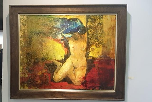 8 hoạ sĩ lớn tuổi gây bất ngờ với triển tranh nude - 16