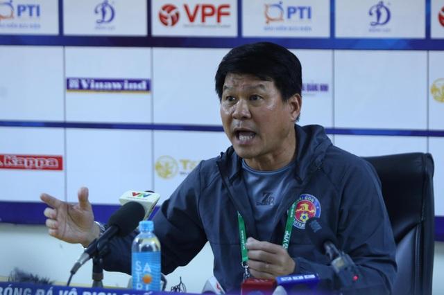 """HLV Sài Gòn: """"Chúng tôi sẽ quyết tâm thắng Viettel, để Hà Nội vô địch"""" - 1"""