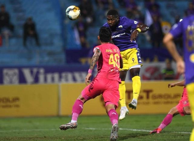 Hà Nội FC 4-2 Sài Gòn FC: Mưa bàn thắng ở Hàng Đẫy - 21