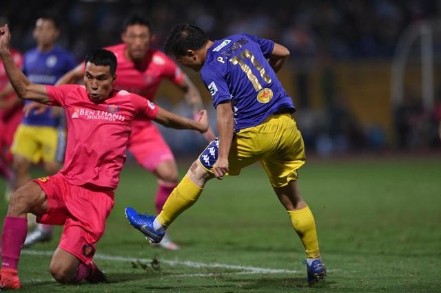 Hà Nội FC 4-2 Sài Gòn FC: Mưa bàn thắng ở Hàng Đẫy - 10
