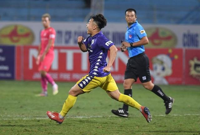 Hà Nội FC 4-2 Sài Gòn FC: Mưa bàn thắng ở Hàng Đẫy - 8