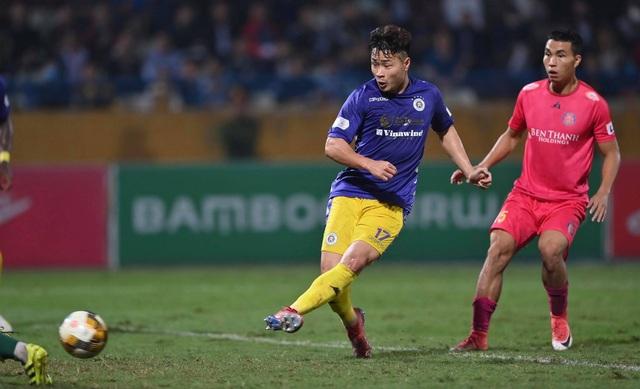 Hà Nội FC 4-2 Sài Gòn FC: Mưa bàn thắng ở Hàng Đẫy - 7