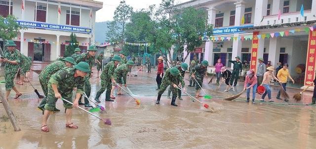 Ngành Giáo dục Nghệ An thiệt hại hơn 15 tỷ đồng do mưa lũ - 9