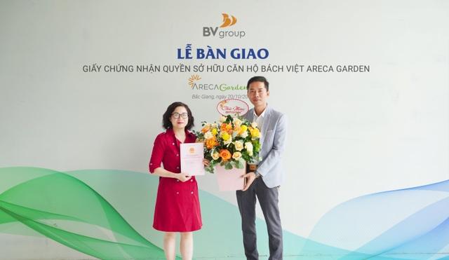 Khu đô thị Bách Việt Lake Garden bàn giao sổ đỏ cho cư dân - 1