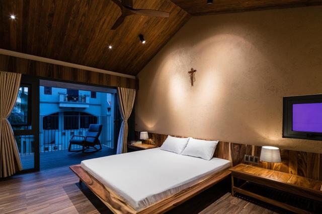 Mê mẩn nhà mái gỗ tuyệt đẹp, có sân thượng xanh mướt đủ loại cây ở Vũng Tàu - 7