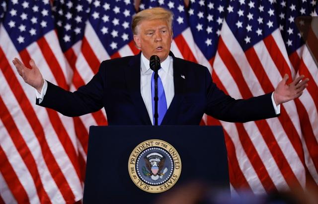 Ông Trump: Chúng ta đã chiến thắng, họ không thể đuổi kịp chúng ta - 1