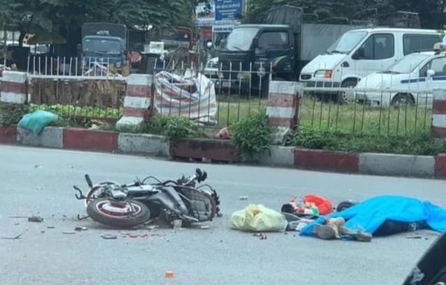 Hà Nội: Truy tìm tài xế xe tải gây tai nạn khiến một phụ nữ tử vong - 1