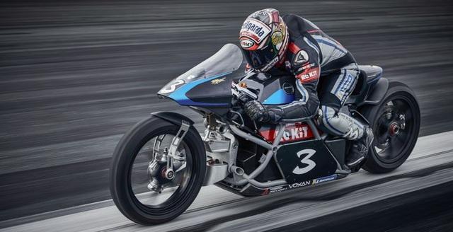 Bàng hoàng kỷ lục tốc độ 336,94 km/h xe máy điện vừa thiết lập - 3