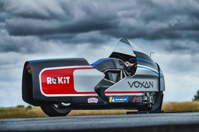 Bàng hoàng kỷ lục tốc độ 336,94 km/h xe máy điện vừa thiết lập - 8