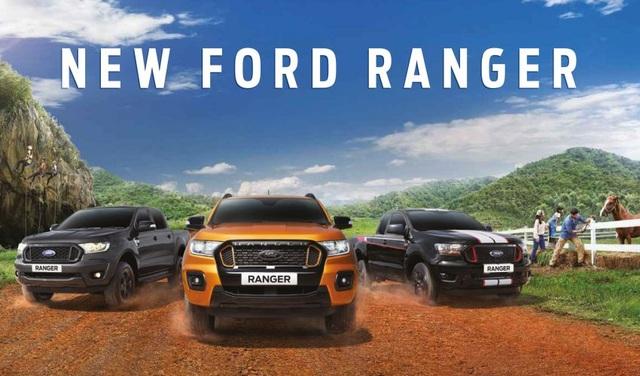 Ford Ranger 2021 ra mắt tại Thái  </div>    <a href=
