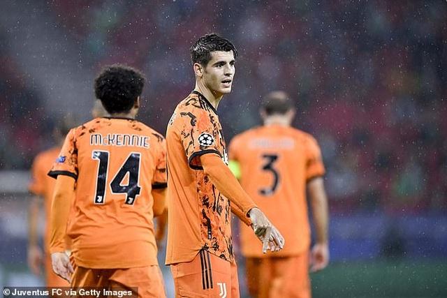 C.Ronaldo vô duyên, Dybala và Morata giúp Juventus đại thắng - 1
