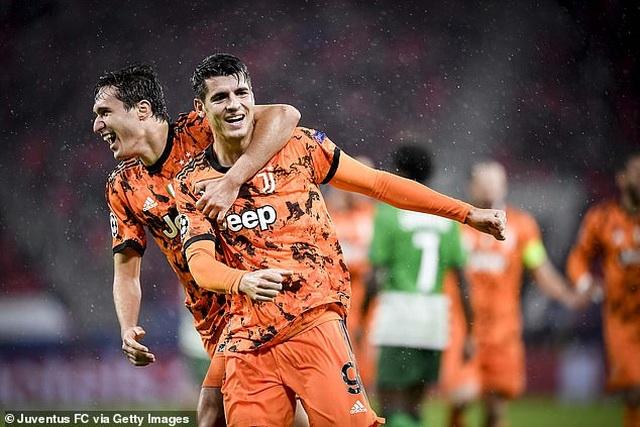 C.Ronaldo vô duyên, Dybala và Morata giúp Juventus đại thắng - 5