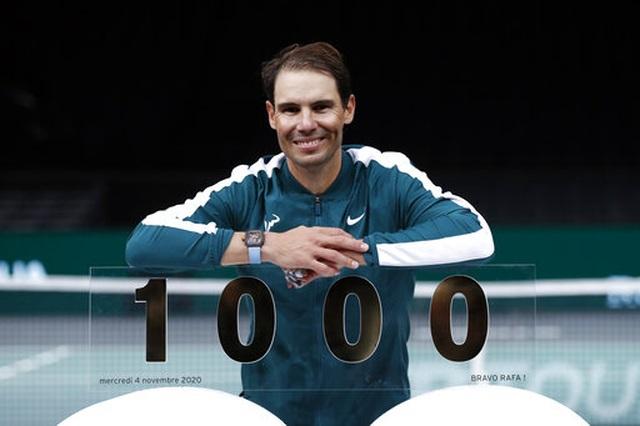 Nadal cán mốc 1000 chiến thắng trong sự nghiệp - 3
