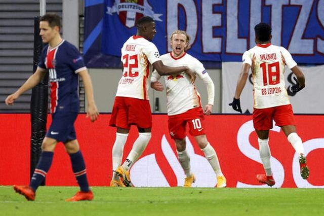 PSG bị đuổi hai người, thua ngược trước RB Leipzig - 2