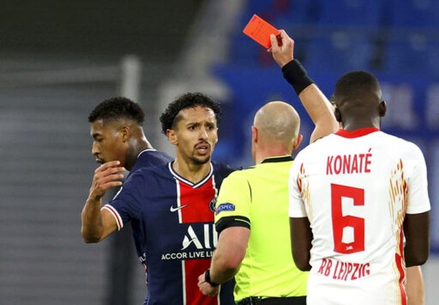 PSG bị đuổi hai người, thua ngược trước RB Leipzig - 3