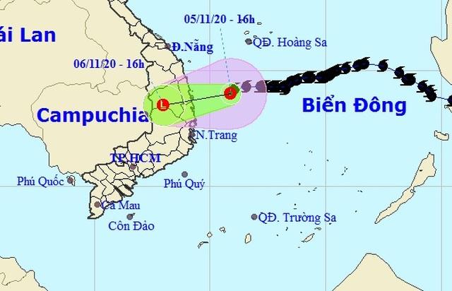 Bão số 10 suy yếu thành áp thấp nhiệt đới, nhiều nơi mưa rất to - 1