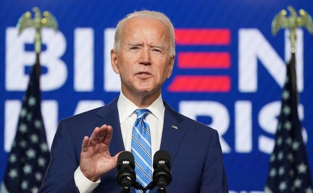 Ông Biden lên tiếng khi chỉ còn thiếu 6 phiếu là đắc cử - 1