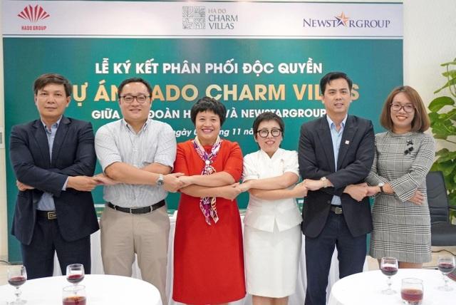 Newstargroup phân phối độc quyền dự án Hado Charm Villas - 2