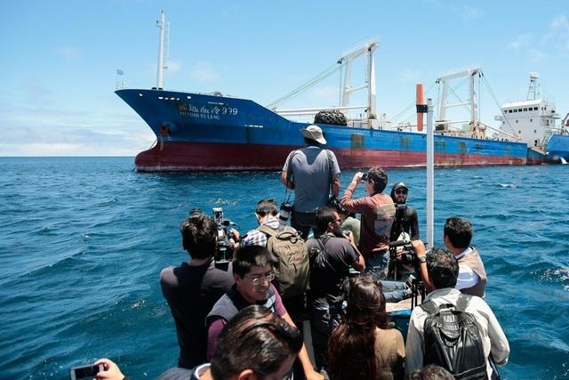 """Các nước Nam Mỹ đối phó đội tàu cá """"tận diệt"""" của Trung Quốc - 1"""
