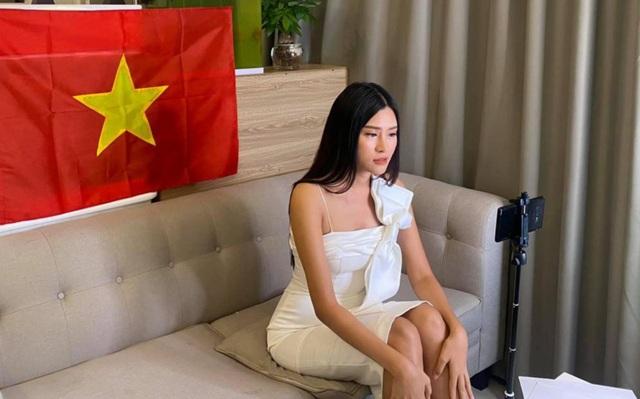 Thái Thị Hoa khoe dáng trong phần thi hình thể tại Hoa hậu Trái Đất - 5