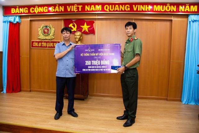 Thẩm mỹ viện Ngọc Dung ủng hộ 2,7 tỷ đồng cho 8 tỉnh miền Trung - 3