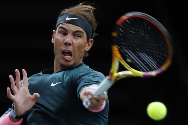 Nadal giành quyền vào tứ kết Paris Masters 2020 - 1