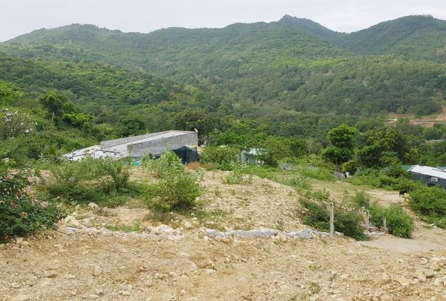Bạt núi, san nền trái phép dưới chân núi Cô Tiên Nha Trang - 6