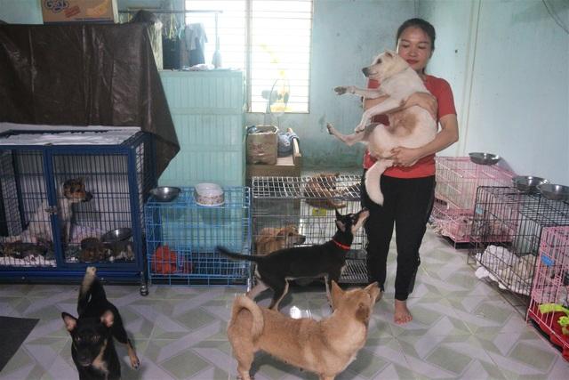 """Người """"mẹ"""" của những chú chó, mèo hoang ở Đà Nẵng - 6"""