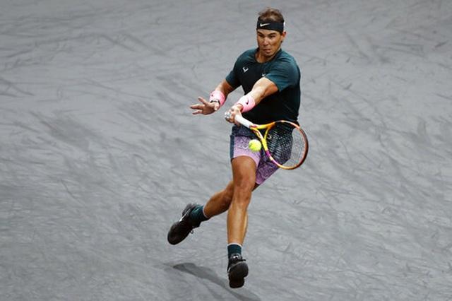 Nadal giành quyền vào tứ kết Paris Masters 2020 - 2