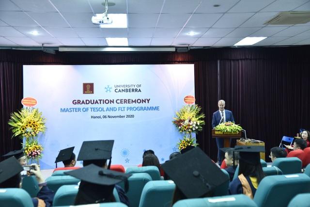 29 thạc sĩ đầu tiên chuyên ngành tiếng Anh được Đại học Canberra cấp bằng - 2