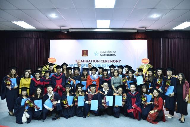 29 thạc sĩ đầu tiên chuyên ngành tiếng Anh được Đại học Canberra cấp bằng - 1