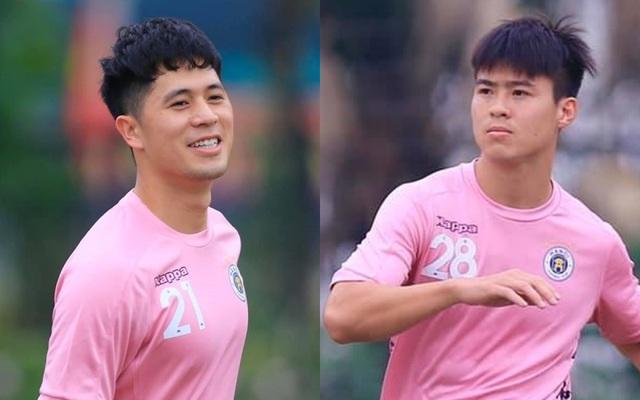 Đình Trọng, Duy Mạnh báo tin vui với CLB Hà Nội - 1