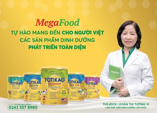 MegaFood - Thương hiệu dinh dưỡng dành cho người Việt - 1