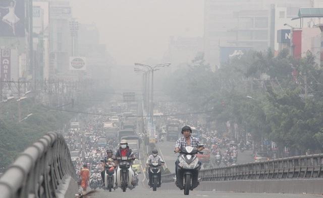 Chuyên gia lý giải hiện tượng ô nhiễm không khí nặng ở Bắc Bộ - 1