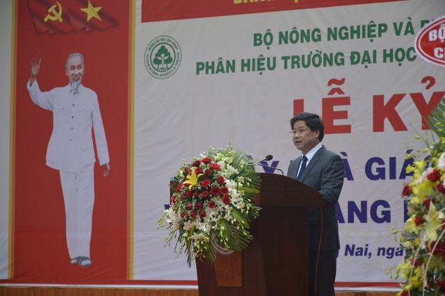Phân hiệu Đại học Lâm nghiệp tại tỉnh Đồng Nai khai giảng năm học mới - 3